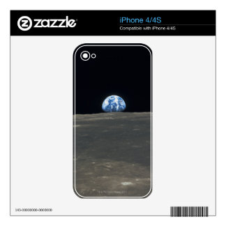 Earth from the Moon 2 Skins For iPhone 4