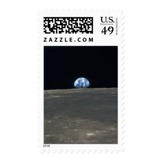 Earth from the Moon 2 Stamps