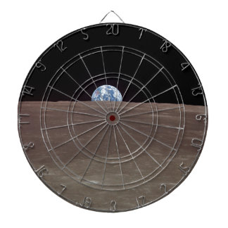 Earth from the Moon Dart Board
