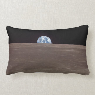 Earth from the Moon Throw Pillows