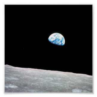 Earth from the Moon Poster