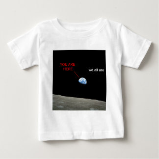 Earth from the Moon - You are young stag Baby T-Shirt