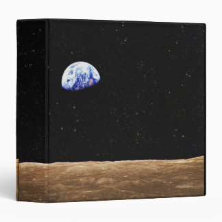 Earth from the Moons Surface Binder