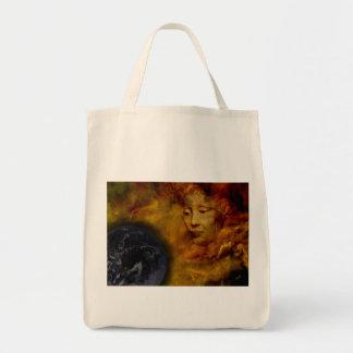 Earth Gaia Environment Digital Collage Tote Bag