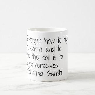 Earth - Gandhi Coffee Mug