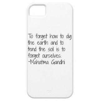 Earth - Gandhi iPhone SE/5/5s Case