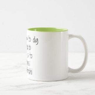 Earth - Gandhi Two-Tone Coffee Mug