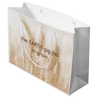 Earth Giggles in Grain Wheat Large Gift Bag
