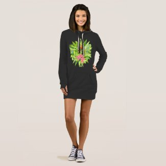 Earth Girl Hoodie Dress