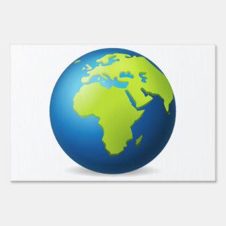 Earth Globe Europe Africa - Emoji Sign