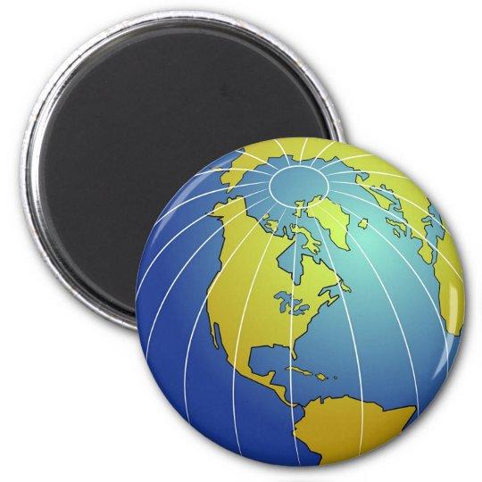 Earth Globe Magnet