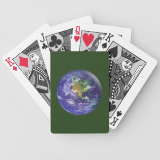 Earth Globe Playing Cards