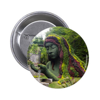 Earth Goddess Pinback Button