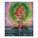 Earth Goddess Poster