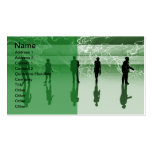 Earth_Green_2_vers Business Card Templates