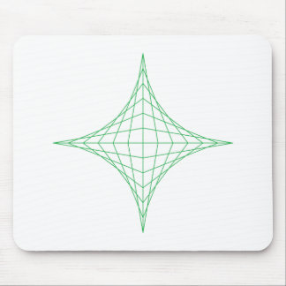 Earth (green) mouse pad