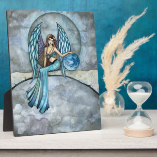 Earth Guardian Angel Self Standing Picture Plaque