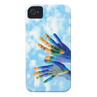 Earth hands iPhone 4 covers