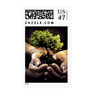 Earth Hands Postage