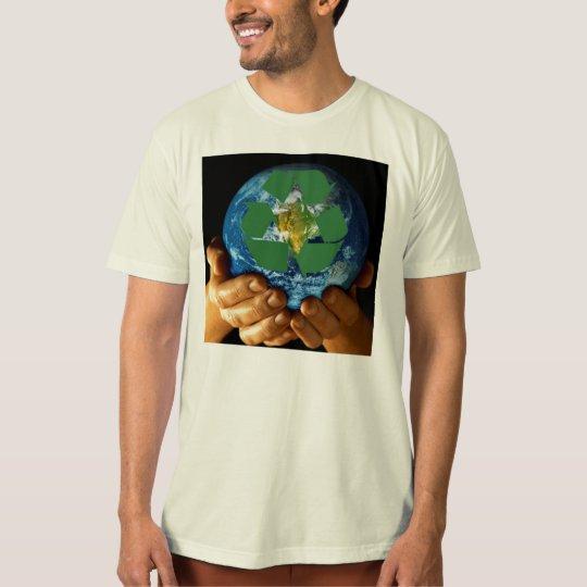 Earth Hands Recycling Organic T-Shirt