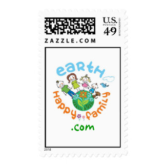 Earth Happy Family Stamps