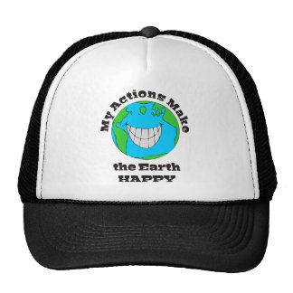 Earth Happy Trucker Hat