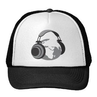 Earth Headphones Trucker Hat