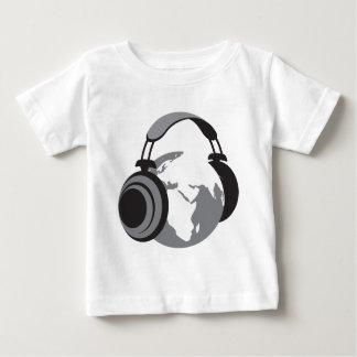 Earth Headphones Tshirt