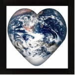 Earth Heart (Add Background Color) Photo Cutouts