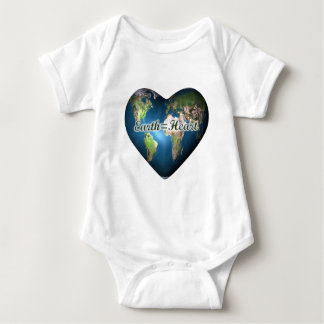 Earth=Heart Baby Bodysuit