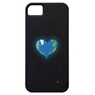 earth heart custom iphone case iPhone 5 cases
