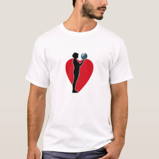 Earth Heart Design T-Shirt