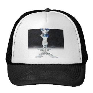 Earth Heart Holder (Semi Universe Background) Mesh Hats