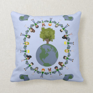 Earth Heart Kids with Tree Pillows