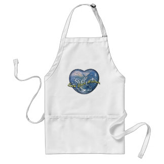 Earth Heart Love Your Mother Apron