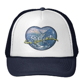 Earth Heart: Love Your Mother Trucker Hat