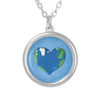 earth heart necklace