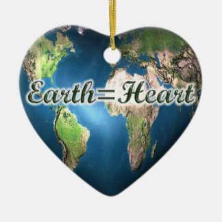 Earth=Heart Ornament