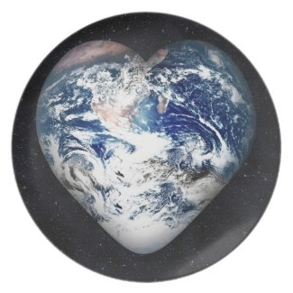Earth Heart fuji_plate