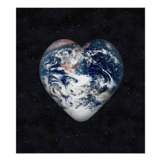 Earth Heart Posters