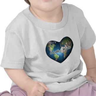 Earth=Heart Shirts