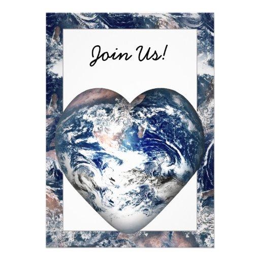 Earth Heat w/Earth Trim Invitations