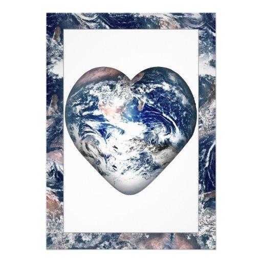 Earth Heat w/Earth Trim Custom Invitations