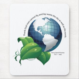 Earth ~ Henry David Thoreau Quotation Mouse Pad