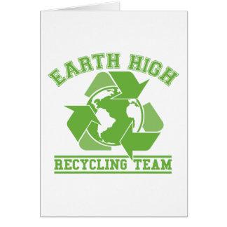 Earth High Recycling Team Card