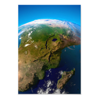 Earth Horizon from Space Card