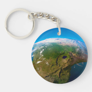 Earth Horizon from Space Keychain