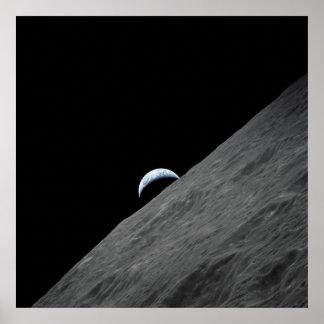 Earth Horizon Poster