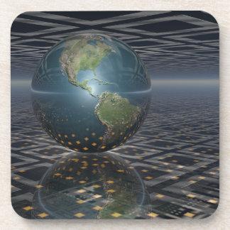 Earth Horizons Drink Coaster