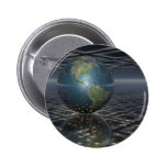 Earth Horizons Pinback Buttons